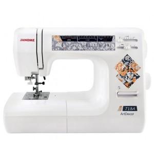 Швейная машина Janome ArtDecor 718 A