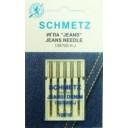 Иглы Schmetz для джинсы (денима) 130/705H-J №100 5шт