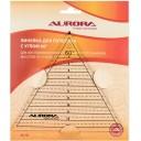 """Линейка для пэчворка """"Треугольник"""" с углом 60 градусов Aurora AU-60"""