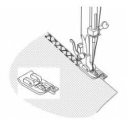 Оверлочная строчка в швейной машине