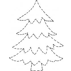 Строчка елочка