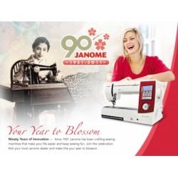 Обзоры швейных машин Janome