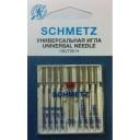 Иглы Schmetz универсальные Kombi 8+1 130/705H №70-100 9 шт