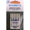 Иглы Schmetz для микротекстиля(шелка) 130/705H-M №80 5шт