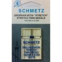 Иглы Schmetz двойная для трикотажа 130/705 H-S ZWI NE 2,5/75 В1